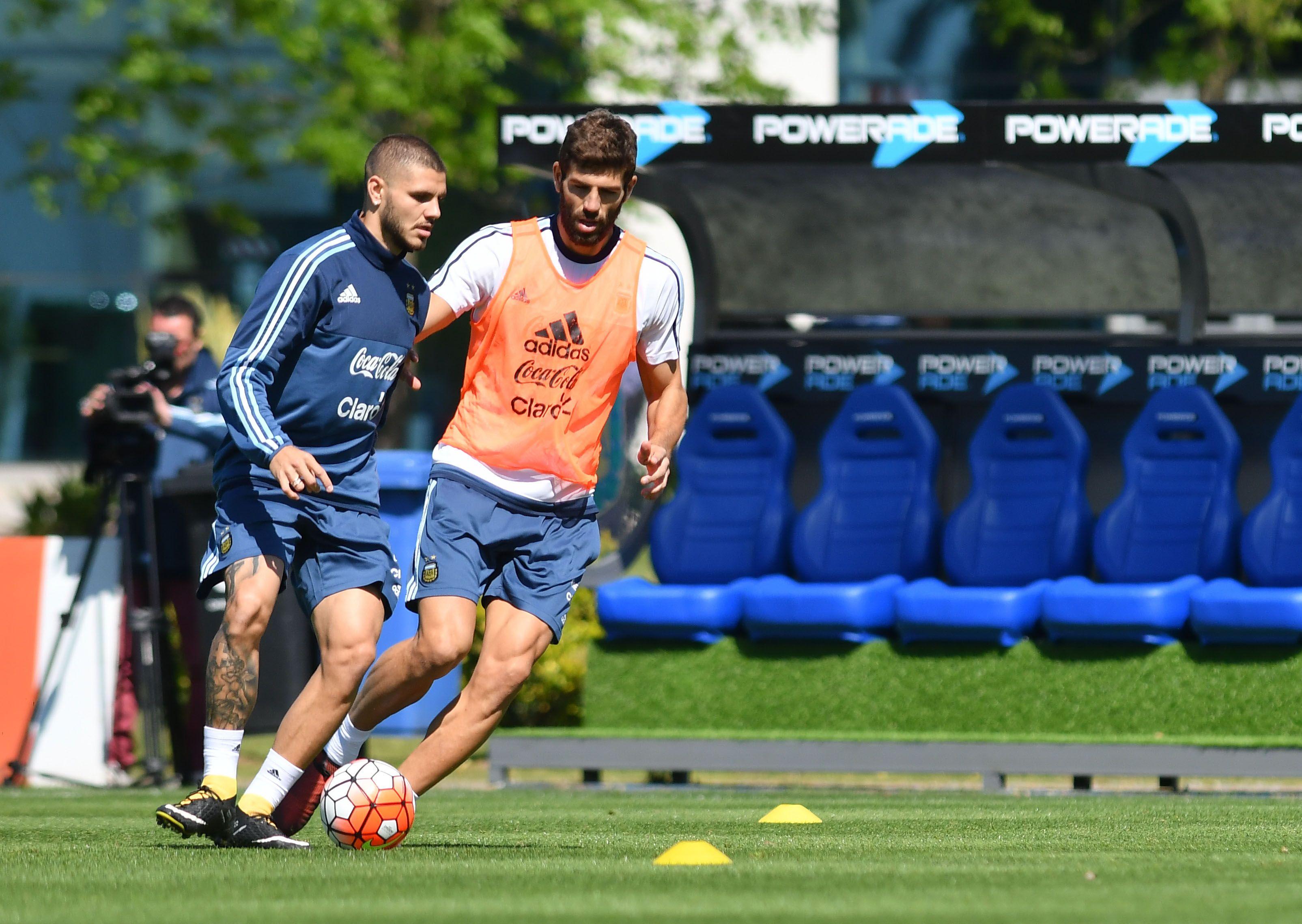 El delantero del Inter