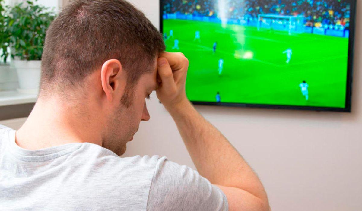 Ver un partido multiplica las chances de tener un trastorno cardíaco