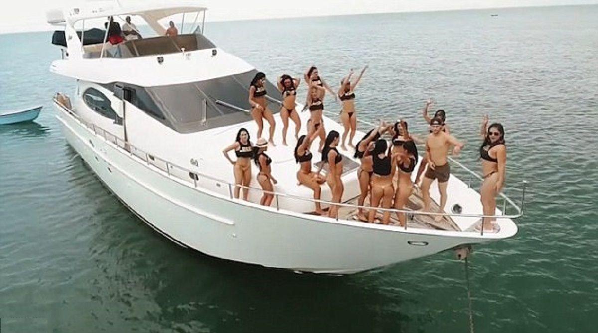 El polémico video que promociona una fiesta sexual privada en una isla de Cartagena