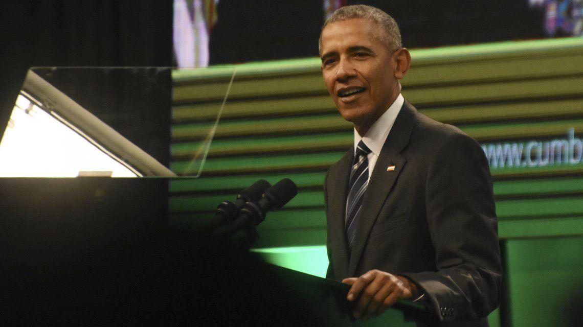 Obama llegó por segunda vez la Argentina