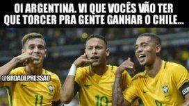 En Brasil quieren a Argentina afuera del Mundial y salieron los memes