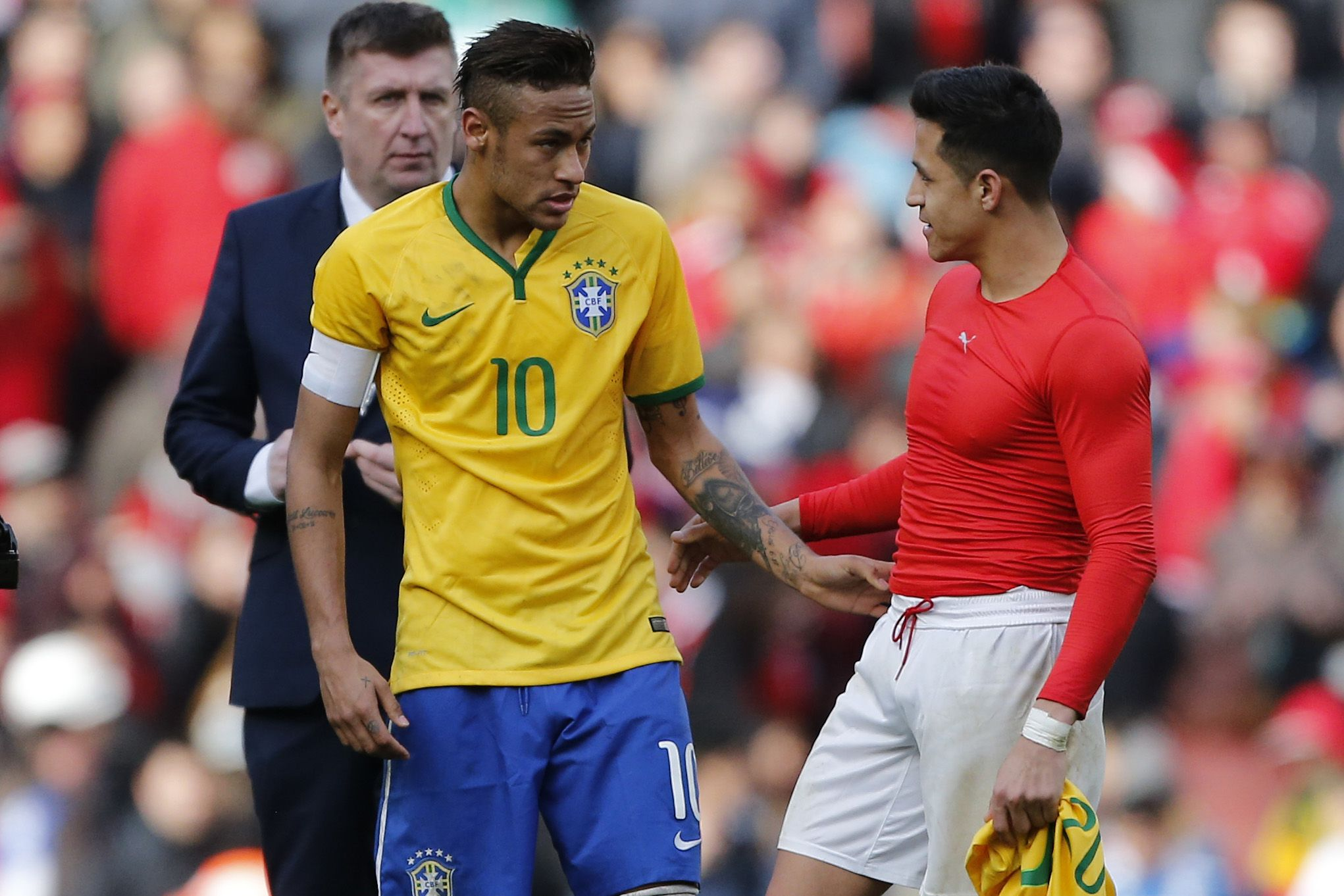 ¿Brasil y Chile tienen arreglado el partido para dejar a la Argentina sin Mundial?