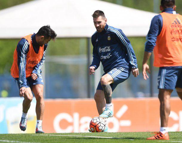 Así se vive el entrenamiento de la Selección argentina
