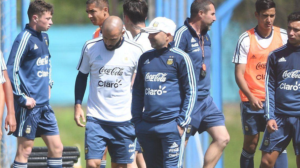 Entera en lo anímico: así entrena la Selección argentina