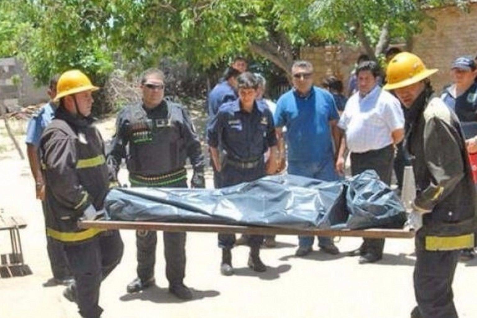 Brutal masacre en el paraje La Ensenada