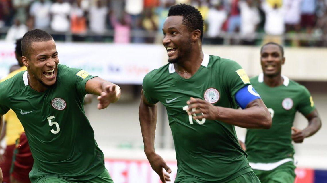 Nigeria es el primer africano en clasificar al Mundial de Rusia 2018