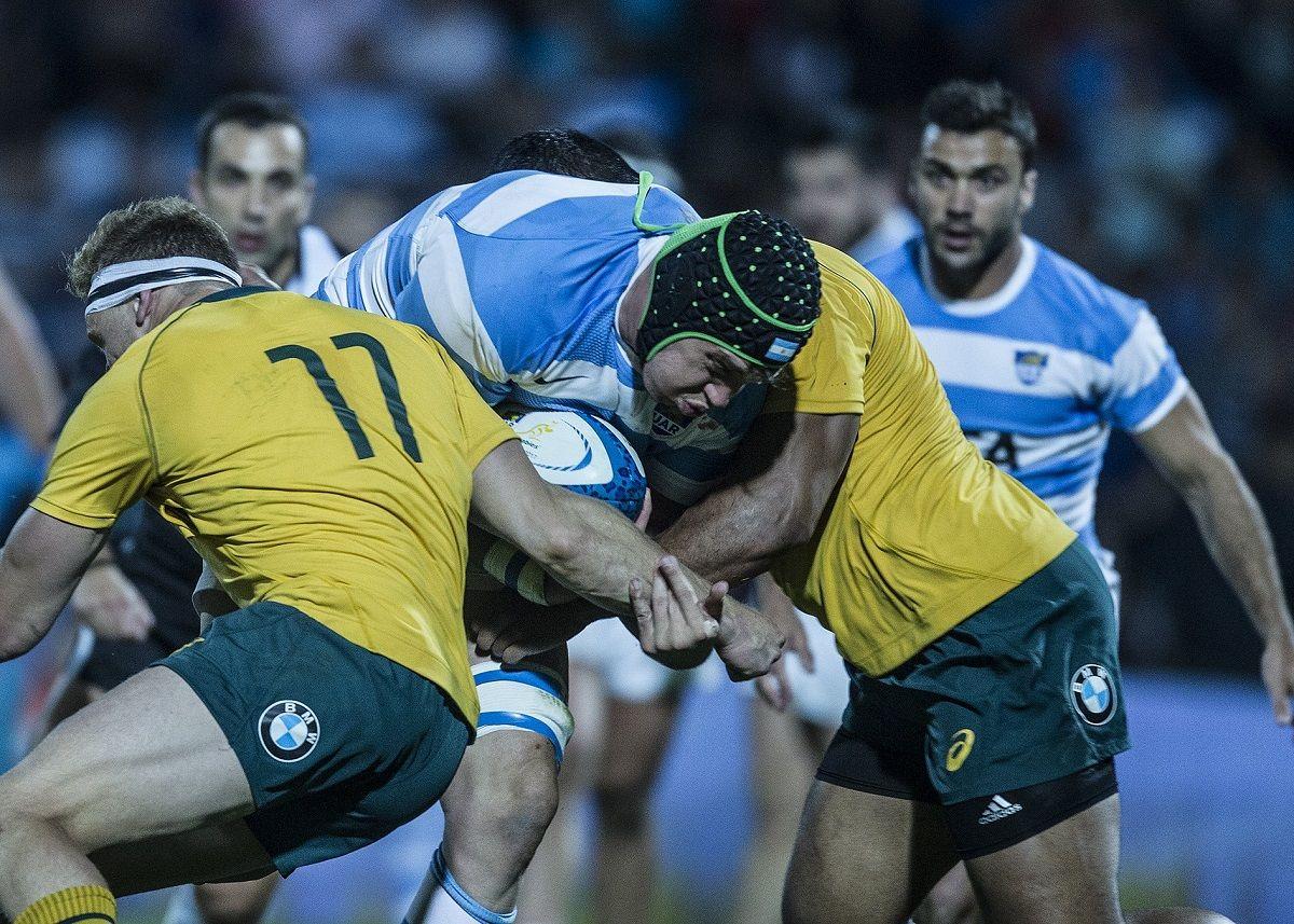 Los Pumas ante Australia - Crédito: @lospumas