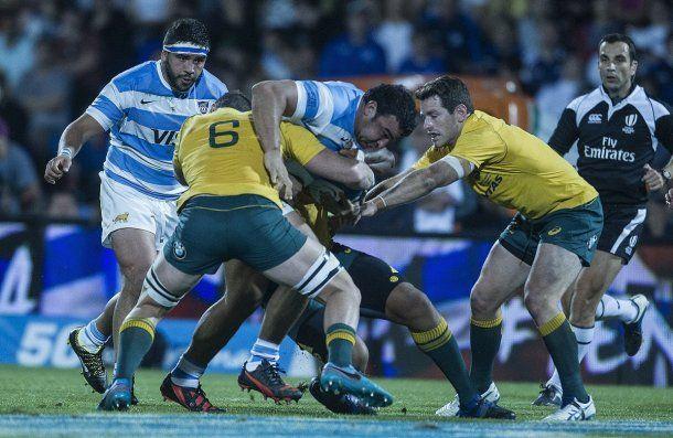 Los Pumas ante Australia - Crédito: @<b>lospumas</b>