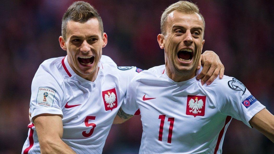 Con Polonia, ya son 14 los clasificados al Mundial de Rusia