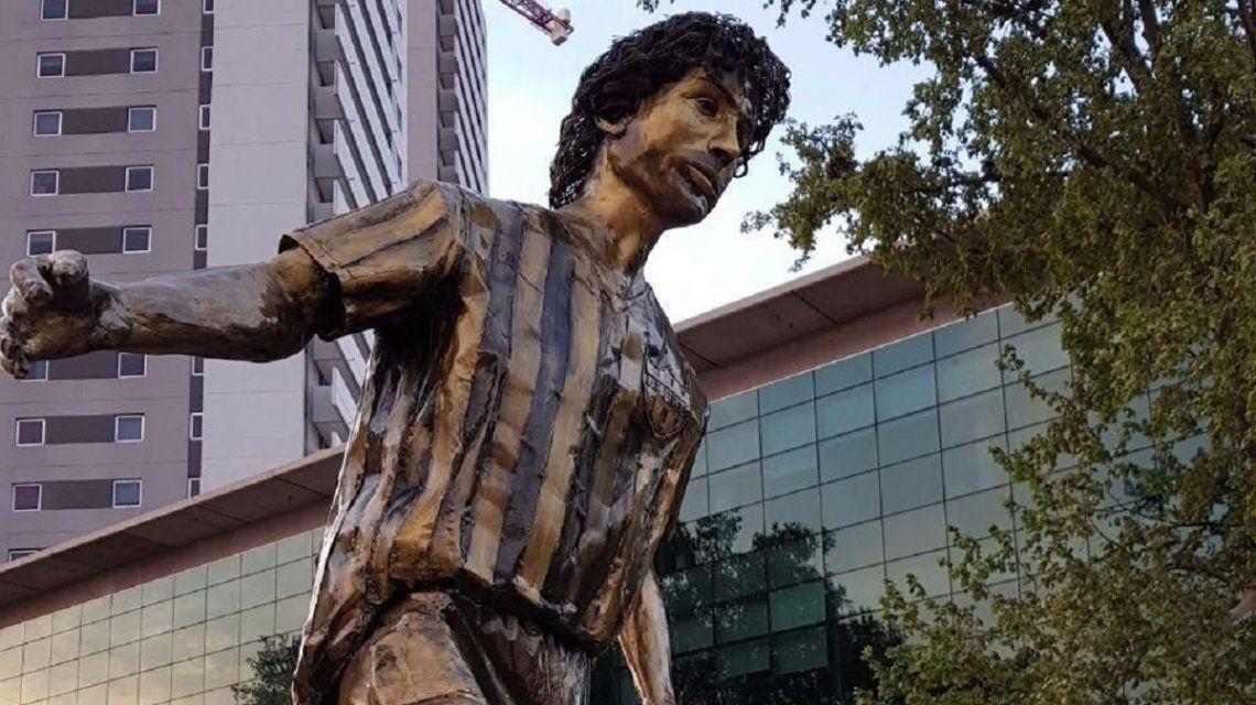 Estatua de Pablo Aimar que se inaugurará en Río Cuarto