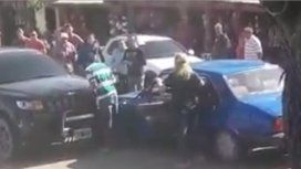 VIDEO: atropelló a un hombre por una pelea de tránsito en Córdoba