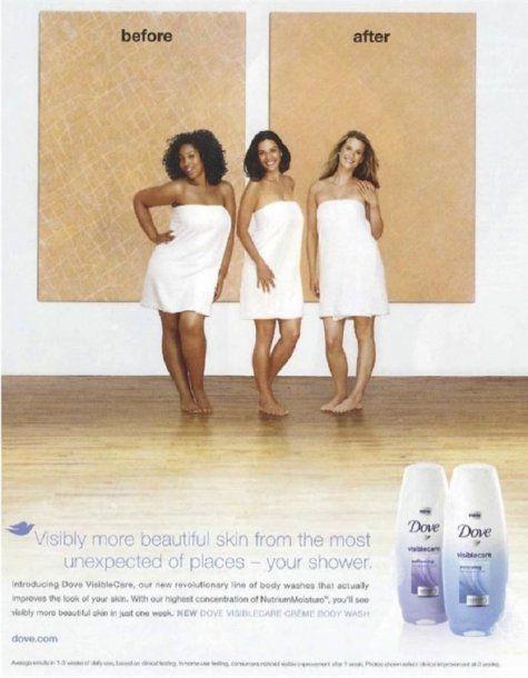 No es la primera vez que Dove creó una publicidad que consideran racista