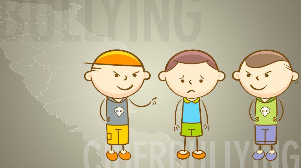 Cifras que preocupan: cada tres horas, un chico sufre bullying en el país