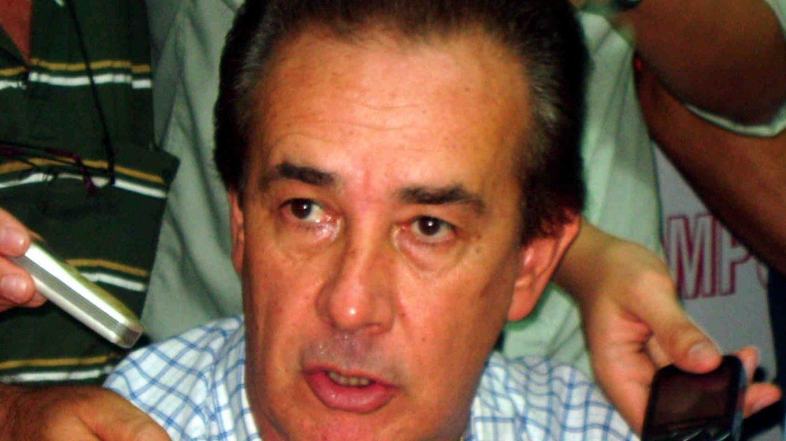El senador santafesino Chacho Marcón