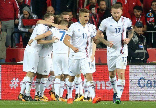 <p>Islandia jugará en Rusia su primera Copa del Mundo</p> <p> </p>
