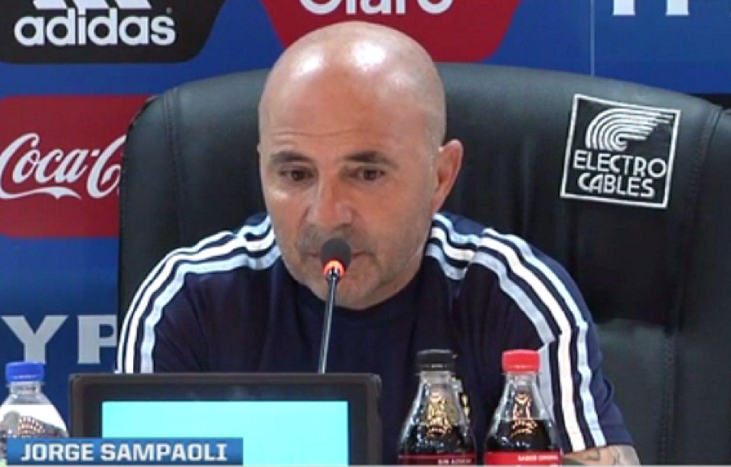 Messi, Cristiano Ronaldo y... el insólito tercer voto de Sampaoli