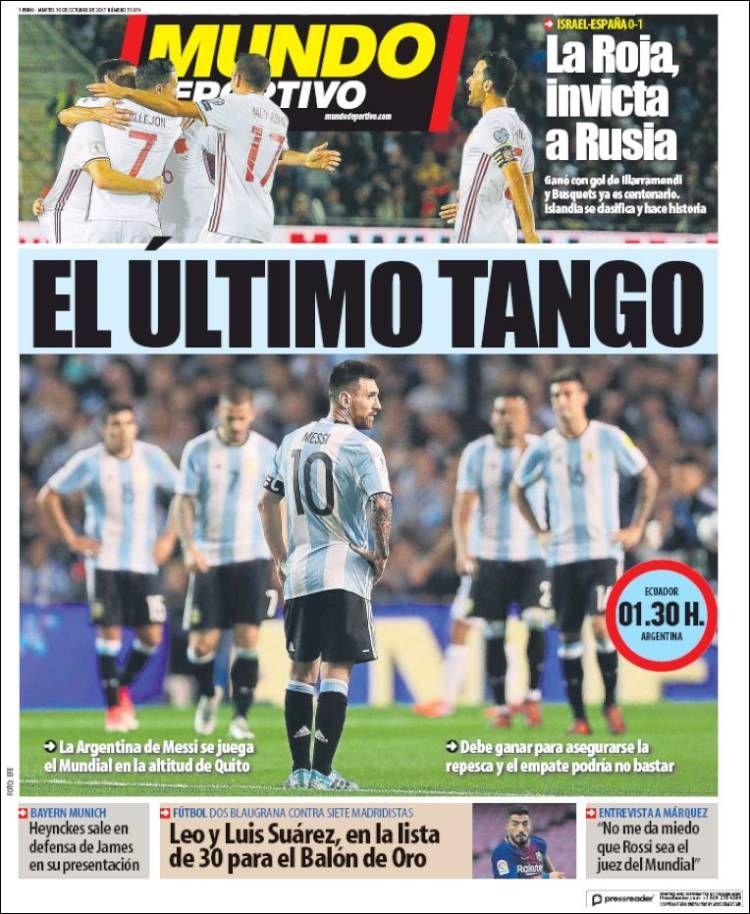 ¿Si se independizan se lo llevan? En Cataluña todos quieren a Messi en el Mundial