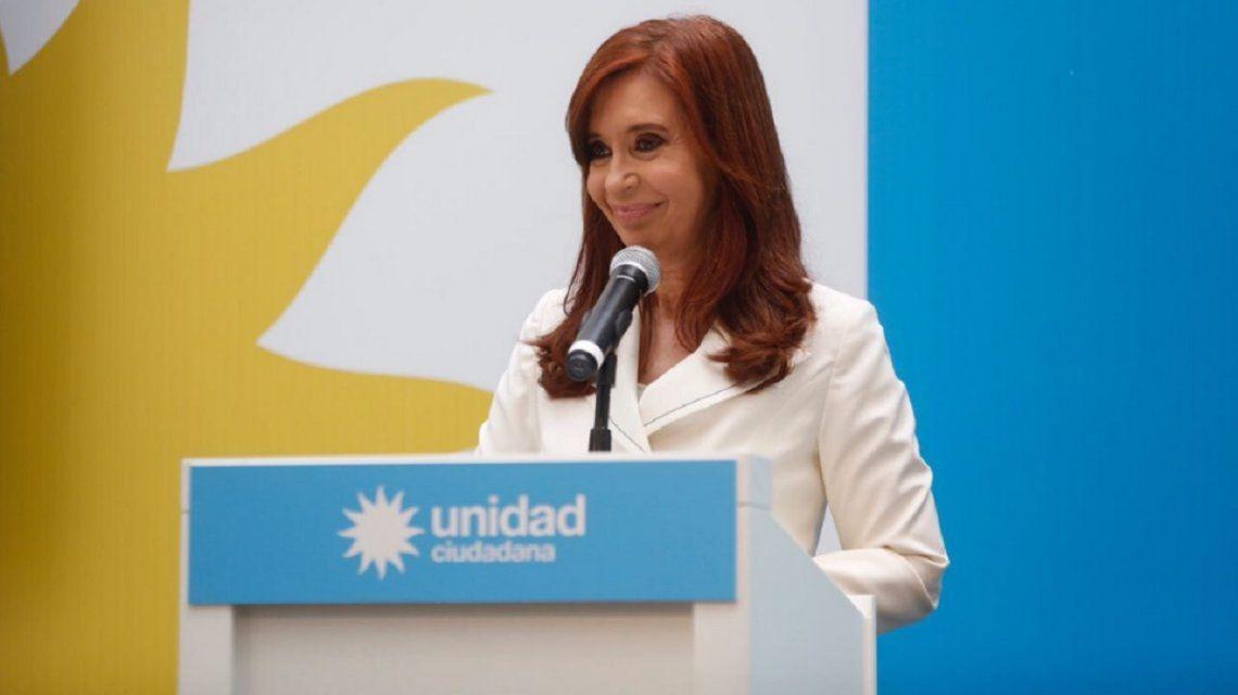 Cristina Kirchner dijo que no está garantizada la transparencia de las elecciones
