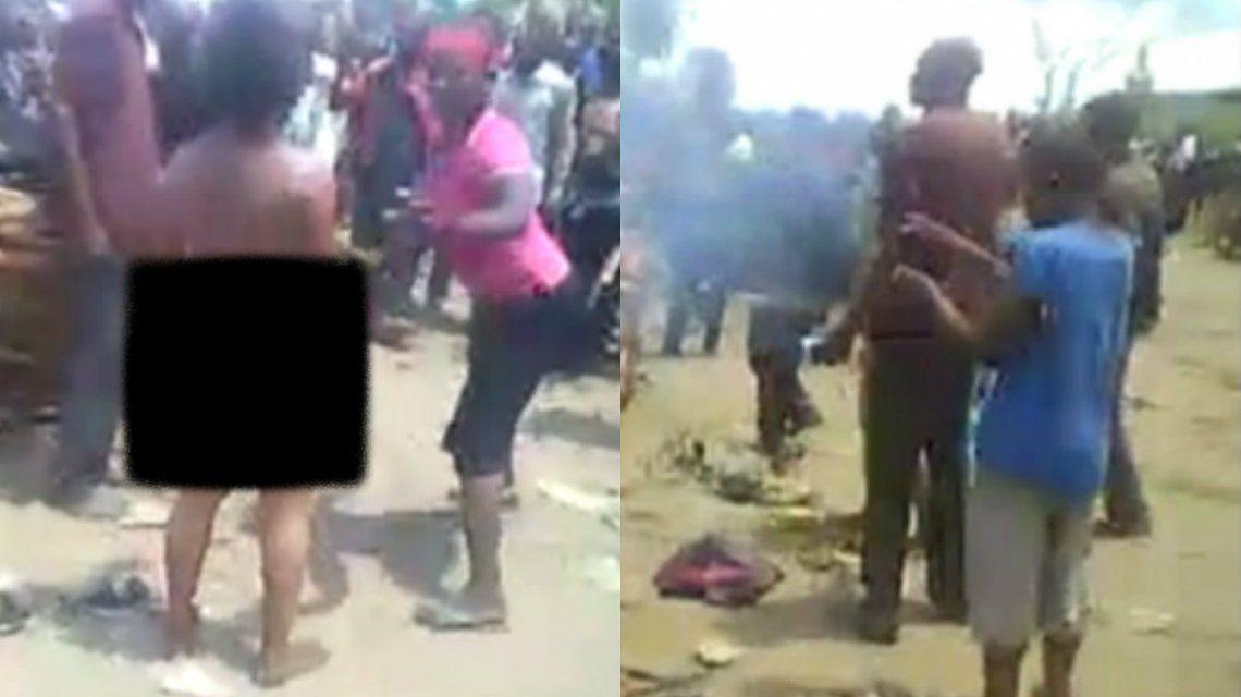 La mujer fue condenada por servir alubias que contenían pescado