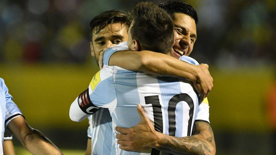 El mejor socio para Messi: Enzo Pérez se comió la cancha en Quito