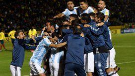 Para Rusia 2018, Argentina clasificó en la última fecha ante Ecuador.