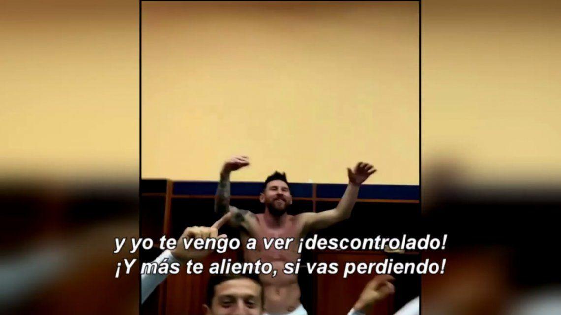 El desahogo de Lionel Messi