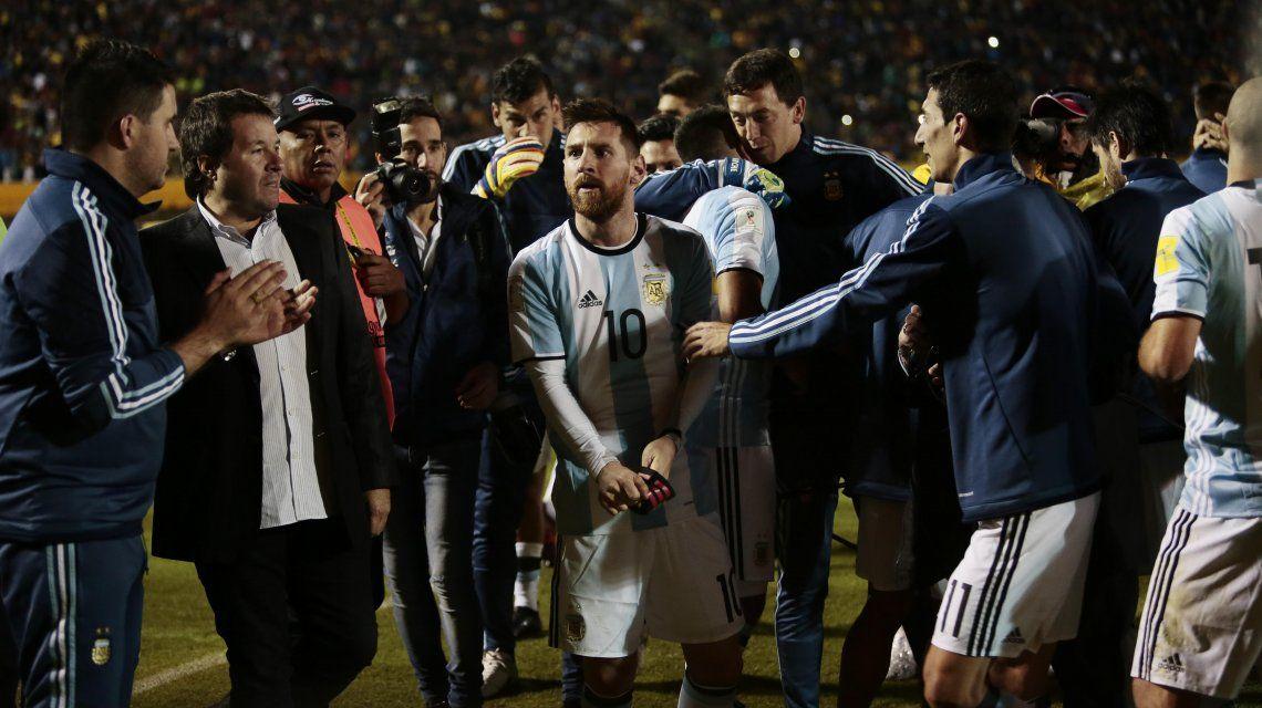 No se puede creer: el fálico mapa de calor de Lionel Messi ante Ecuador