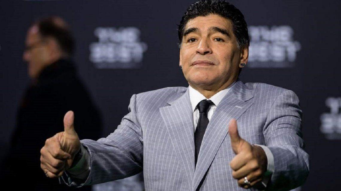Maradona expresó su alegría en las redes tras la clasificación al Mundial