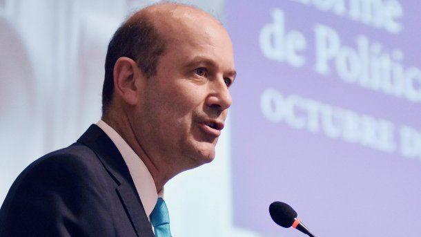 Federico Sturzenegger, presidente del BCRA<br>
