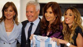 Víctor Blanco y Cristina Kirchner