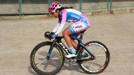Maribel viene de competir en el Panamericano, Mundial de pista y de ruta, todo en Junior