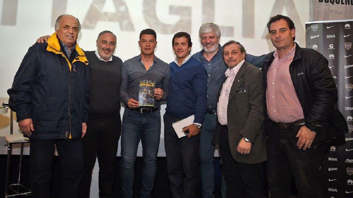 Sebastián Battaglia presentó su biografía: el libro de un ganador
