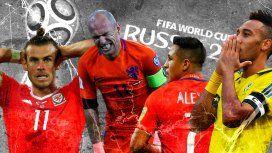 El 11 de los que no: las estrellas del fútbol que estarán ausentes en Rusia 2018