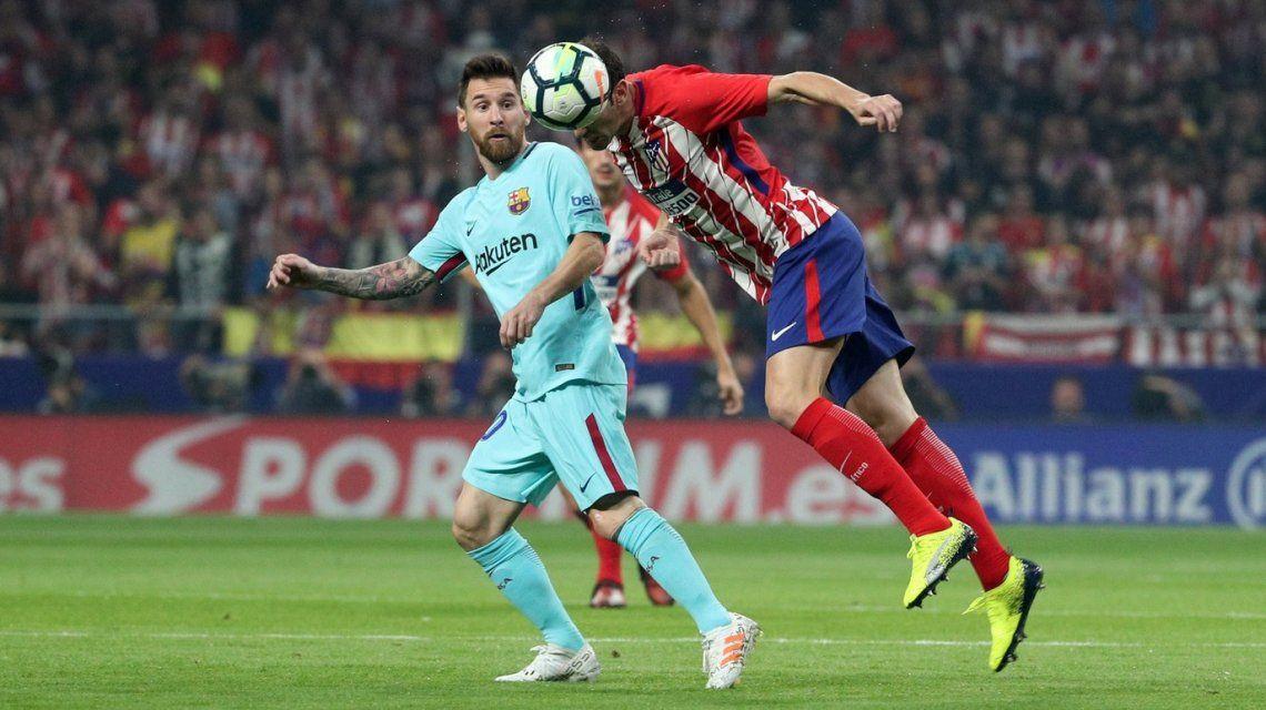 Atlético Madrid recibe a Barcelona
