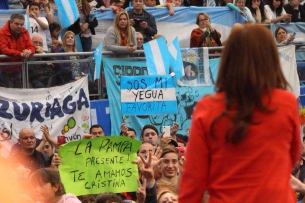 Cristina Kirchner en La Matanza<br><br>