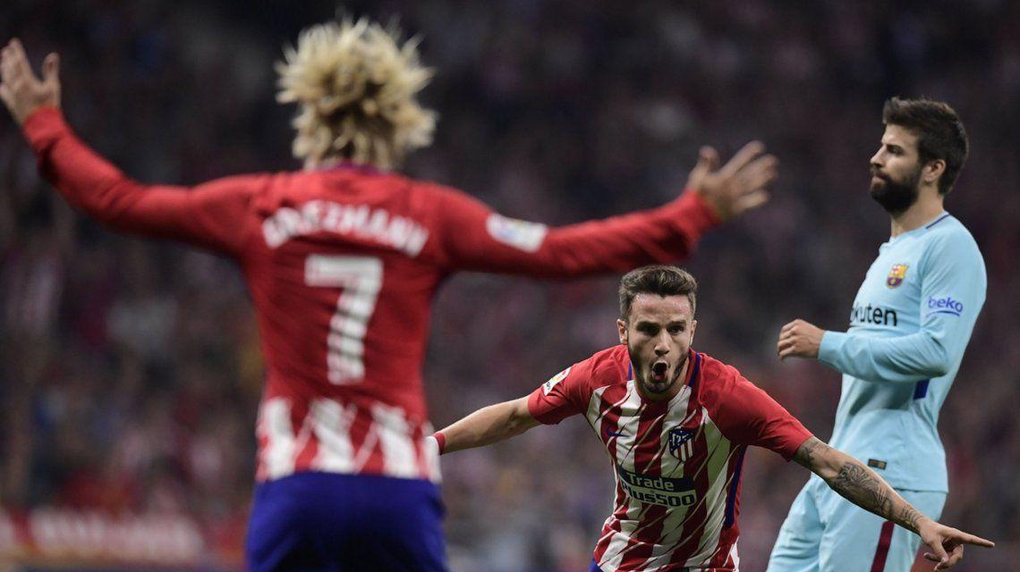 Atlético Madrid y Barcelona en el Estadio Wanda Metropolitano