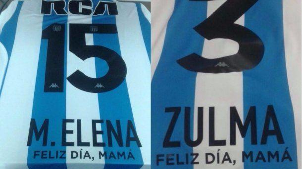 Homenaje de Racing por el Día de la Madre - Crédito: @agustindiazg