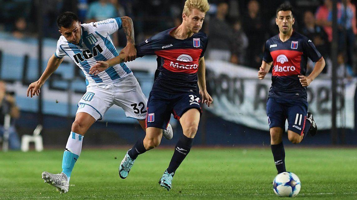 Racing le ganó de local a Tigre y volvió a sumar de a tres