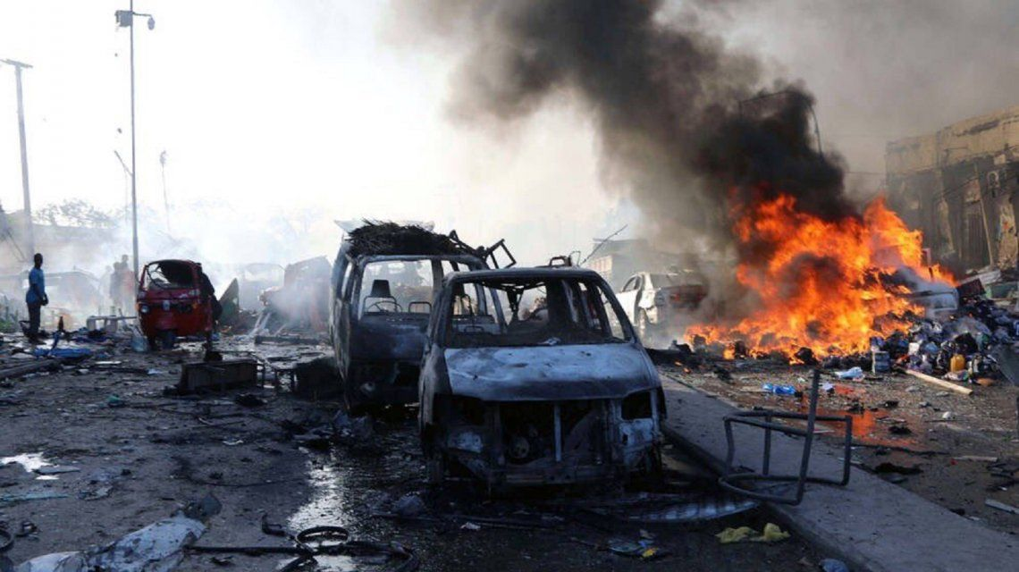 Brutal atentado terrorista en Somalia: al menos  237 muertos