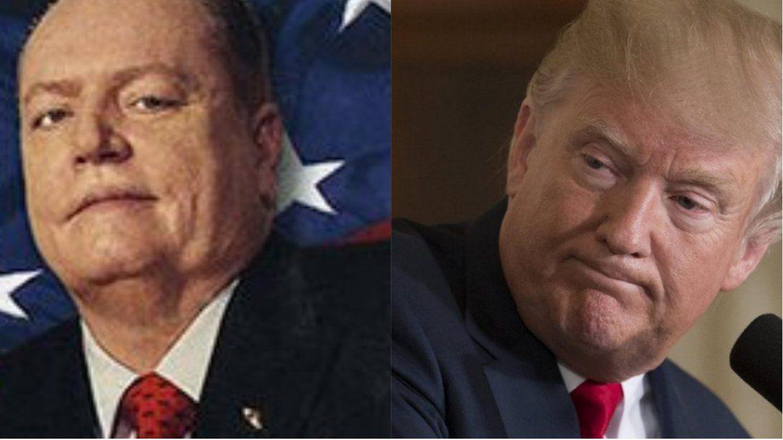 Larry Flynt ofreció 10 millones de dólares por información para destituir a Trump