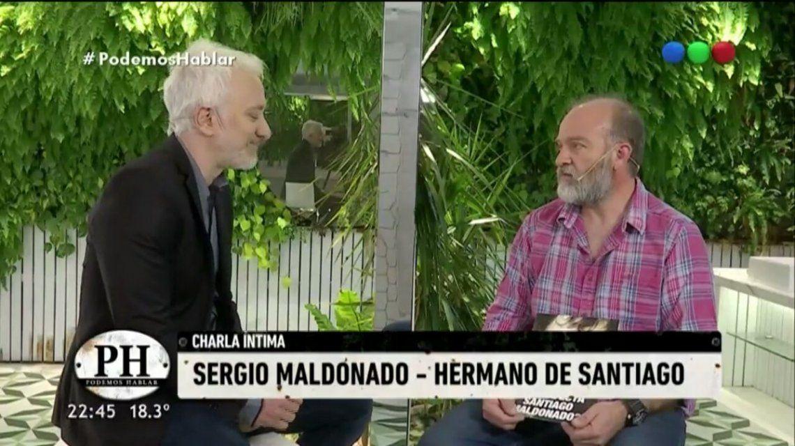 VIDEO: El desgarrador llanto del hermano de Santiago Maldonado