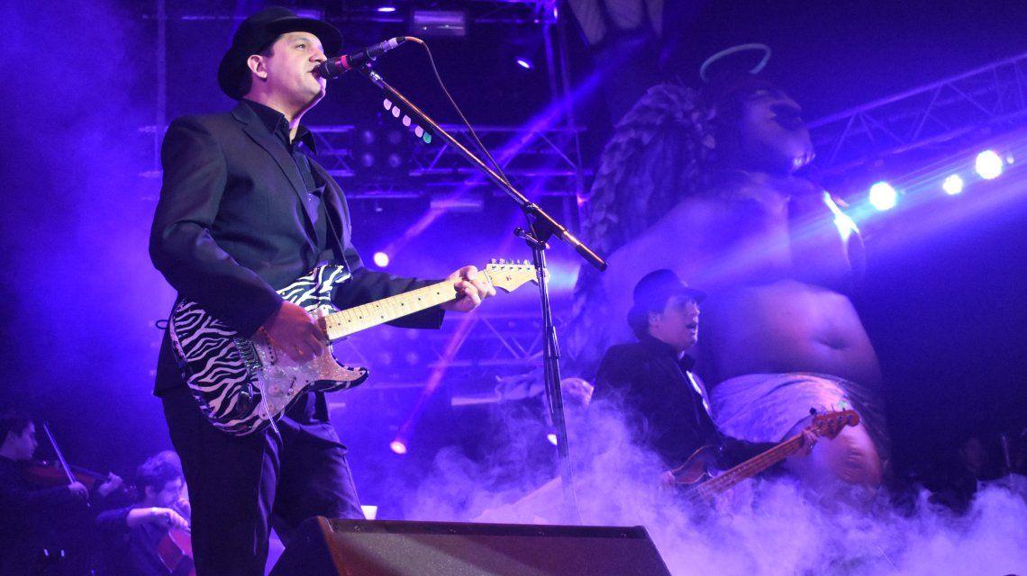 Los Gardelitos en el BA Rock