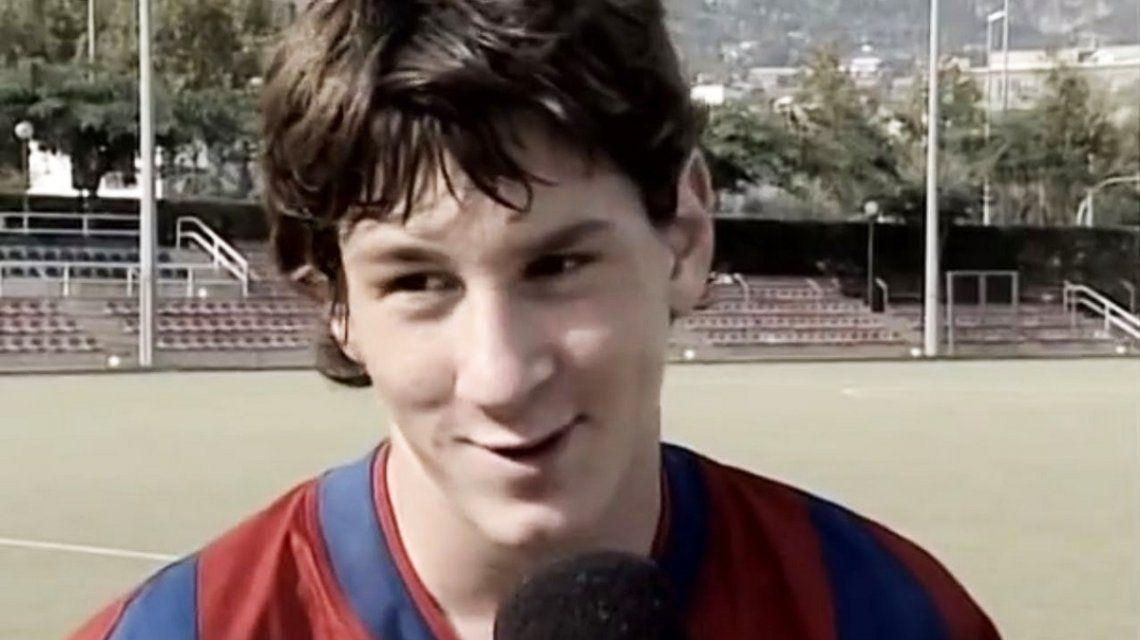 A 13 años de su debut, el Barcelona compartió las mejores jugadas de Messi en las inferiores