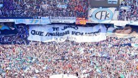 La bandera que La Cámpora le hizo a CFK con un tema de Nino Bravo