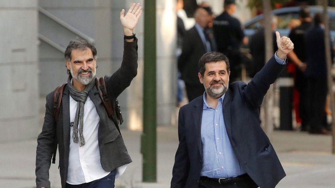 Jordi Cuixat y Jordi Sánchez