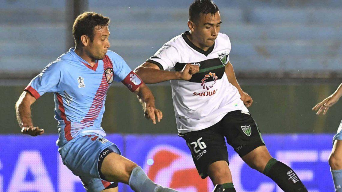 San Martín de San Juan extiende su buena racha al ganarle a Arsenal en Sarandí