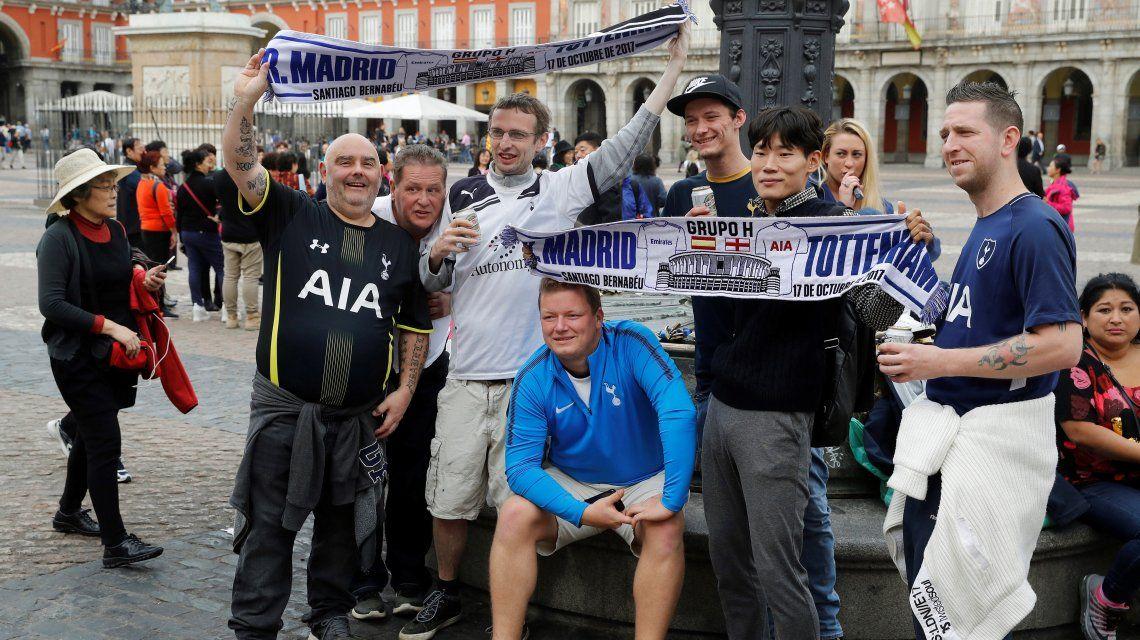 Los ingleses coparon las calles de Madrid