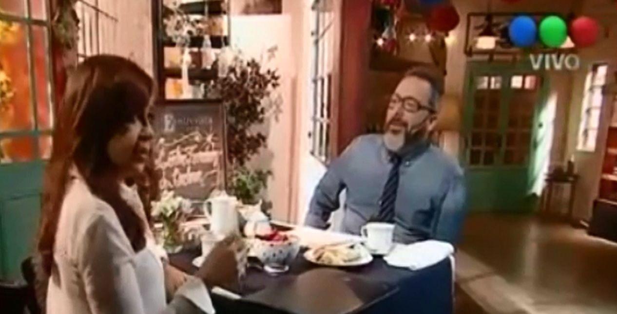 La chicana de Cristina a Rozín: Seguro que a Mariu no la patea