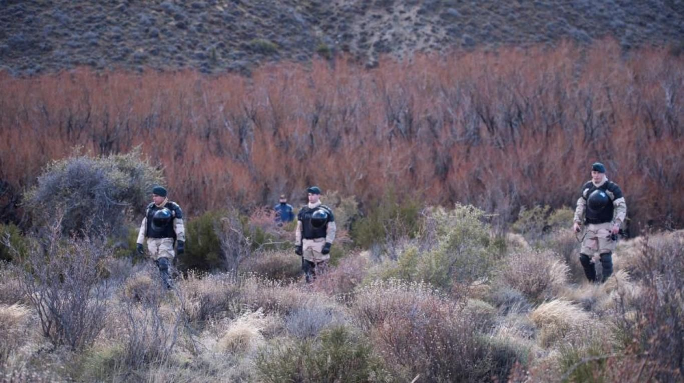 El cuerpo fue hallado a 300 metros río arriba del lugar de la represión