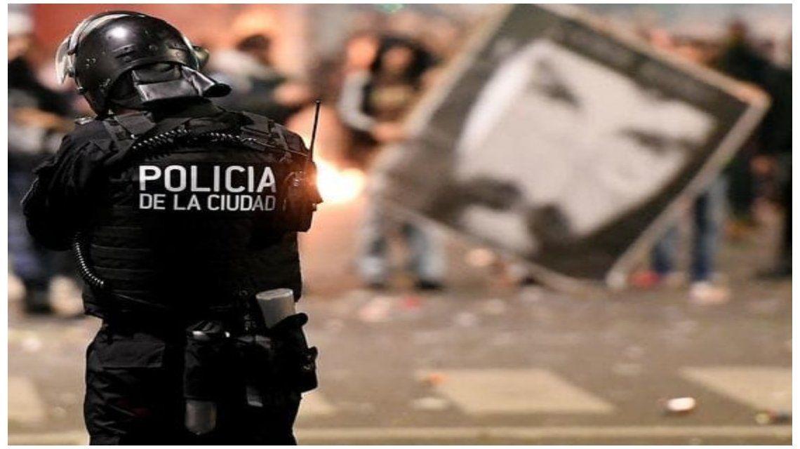 Incidentes en marcha por Santiago Maldonado